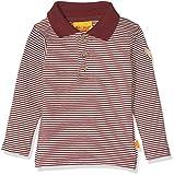 Steiff Baby-Jungen Poloshirt 1/1 Arm, Rot (Burgundy|Red 2761), 80