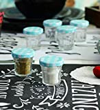 HOMIES INTERNATIONAL, Set of 3 Pieces, 50ml Honey Glass Storage Bottle jar Sugar Bowl Jars Spices Sealed Grains Storage…
