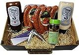 Lebensmittel-Geschenkidee Grillköfferle