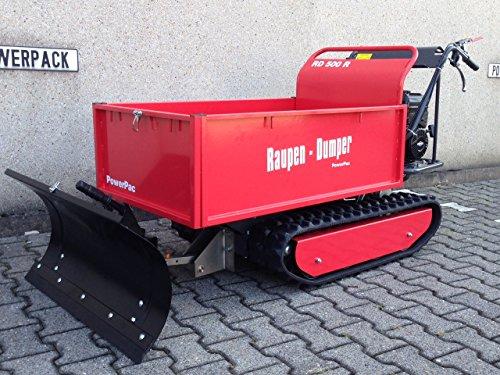 POWERPAC RD500R Pritsche – RAUPENTRANSPORTER RAUPENDUMPER DUMPER MINIDUMPER KETTENDUMPER - 8