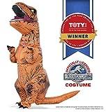 Rubie's T-Rex Kostüm aufblasbare Jurassic Welt für Kinder