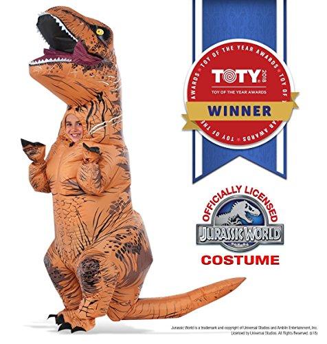 Rubies Inflatable Jurassic T-Rex Dinosaur Costume Standard