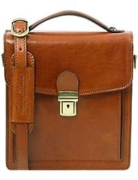 Tuscany Leather David Borsello in pelle a tracolla - Misura piccola