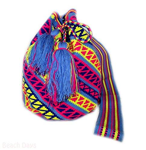 Chica Bonita - Borsa a tracolla donna Multicolore (Beach Days)