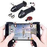 Olycism Mobile Game Controller Tastenkombinationen für L1R1 Shooter-Controller PUBG Kompatibel mit 4,5 bis 6,4 Zoll Smartphone für Regeln des Überlebens/Survivor Royale/Messer Out/PUBG