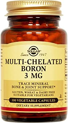 Solgar Boron 3 Mg Vegetable Capsules, 100 from Solgar