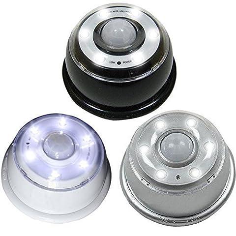 Linxor France ® Lampe détecteur de mouvement 6 LED infrarouge