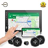 Woodman WM2027 HD Full Touch Screen with Bluetooth/USB/AUX Double Din Car Stereo (WM2027 (Full Touch) + Speakers + Camera)