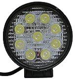 2 X 27W FARO DA LAVORO LUCE DI PROFONDITA' A LED 27W , 12V 24V LED Lampada Lavoro Offroad Truck Jeep