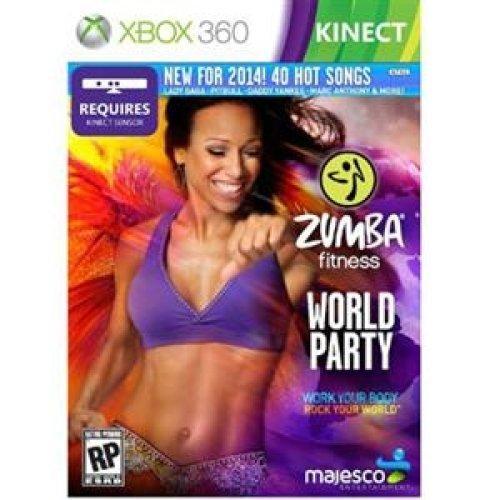 majesco O1805Zumba Fitness World Party Fitness Spiel DVD-ROM Xbox 360 - Fitness-spiele