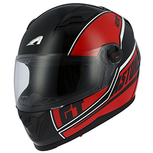 Astone Helmets gt2g-cloud-rdxs casco Moto Integral GT, rojo, talla XS