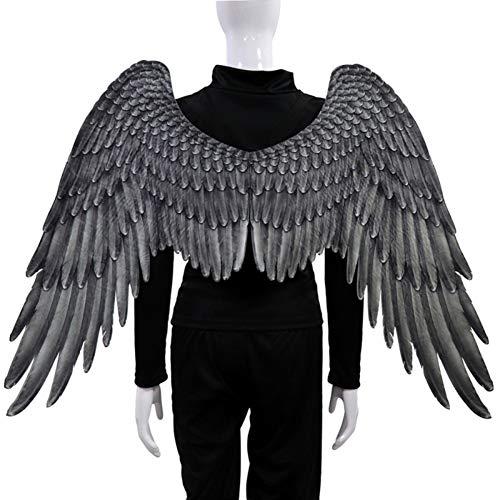 Vlies 3D Engelsflügel Halloween Thema Party Cosplay Kostüm Zubehör Für Erwachsene Männer Frauen Balight