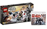 Lego Star Wars Set: 75195 Ski Speeder vs. First Order Walker Microfighters + 30497 First Order Heavy Assault Walker™ im Beutel