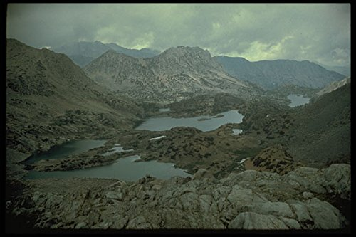 397098 View From Bishop Pass A4 Photo Poster Print 10x8
