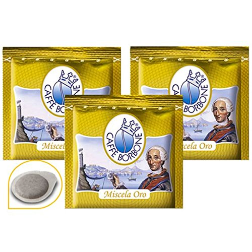 300Pads Filter Papier 44mm CAFFE 'Borbone Mischung Gold Original