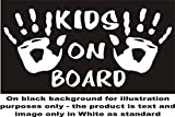 Kinder, Kind, Kids hands on Board