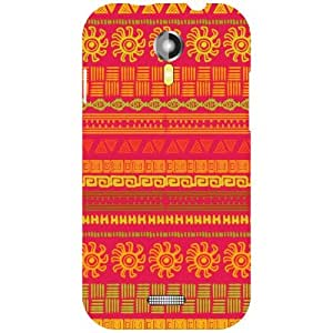 Micromax A117 Canvas Magnus Back Cover - Mixed Designer Cases