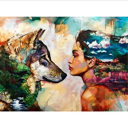 Kunst Handgemalte Kreative Digitale Ölgemälde 24 Farbe Pigment Pinsel Malerei DIY Malen Nach Zahlen ()
