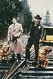 Moviestore Kyle MacLachlan als Agent Dale Cooper unt Michael Ontkean als Sheriff Harry S. Truman in Twin Peaks 91x60cm Farb-Posterdruck