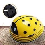 A-szcxtop Mini-aspirateur de table électrique, nettoyeur de poussière, motif coccinelle rouge, peut être utilisé pour coussin de voiture, intérieur ou surface Couleur 3