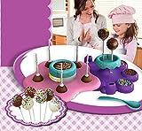 AMAV Cake Pops Maker Spielzeug Aktivität mit Mikrowelle Backen–DIY, Ihre eigenen Delicious Treat-Essbar Sweet Art
