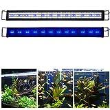 KZKR Aquarium Light for 120-150 CM/48in-60in Aquarium Fish and Plant Tank Led Light