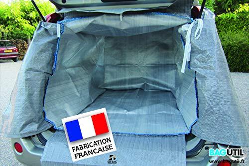 Bache de protection intégrale pour intérieur de vehicule-...