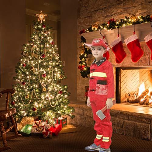 Stück Feuerwehrmann 3 Kostüm - Supererm Feuerwehr-Kostüm für Kinder (6 Stück)