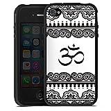DeinDesign Apple iPhone 4s Coque en Silicone Étui Silicone Coque Souple Om Henna...
