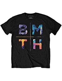 Bring Me The Horizon COLOURS Black T-shirt. Officially Licensed