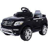 moleo Mercedes-Benz ML Kinder Auto mit 2 Motoren MP3 Fernbedienung