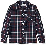 NAME IT Jungen Hemd NITFISTER LS Shirt M Mini, Grau (Dress Blues), 110