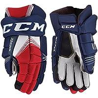 CCM Tacks 5092 Hockey Gloves SR - 13 - Black/Red/White