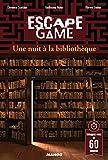 """Afficher """"Escape Game<br /> Une nuit à la bibliothèque"""""""