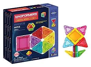 Magformers - Window Basic, Set de 14 Piezas magnéticas (714001)