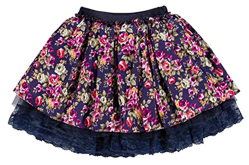 storeofbaby Kleinkind Mädchen Blumenrock Cute Ruffle Pageant Dress Up Outfits