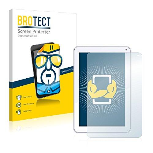 BROTECT Schutzfolie kompatibel mit Odys Neo Quad 10 [2er Pack] klare Bildschirmschutz-Folie