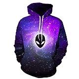 YL Men's Sweatshirt -  purple - Medium