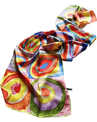 prettystern-p701-foulard-en-soie-oeuvre-peinture-kandinsky-color-study-etude-couleur