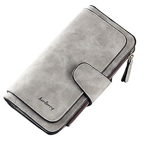 Ulisc Creative Women Long Wallet Decoration Scrub Wallet Hasp Clutch Coin Pocket Cards Holder Bag Billetera