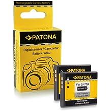 2x Bateria Li-70B Li70B para Olympus D-700   D-705   D-710   D-715   FE-4020...