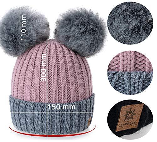 Prezzo 4sold Miki Donne Winter Cappello Invernale Beanie Lavorato su ... 087356f6140b