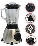 Edelstahl Standmixer Smoothie Mixer Blender Zerkleiner Eis-Crausher 1,5L DMS BL-1.5