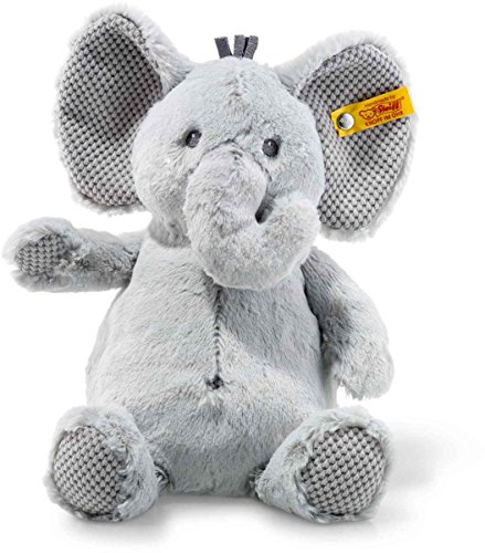 Steiff 240539 Soft Cuddly Friends Ellie Elefant Plüsch grau 28 CM