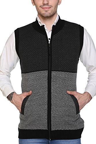 aarbee Sleeveless Zipper Sweater Men