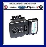 Original FIAT 500 Panda Punto Blue & Me USB Media Player Aux Buchse 735547937