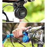 KOBWA Elektrisches Fahrrad-Horn-Fahrrad-Bell, Fahrrad-Horn 120 db Unsichtbares Fahrrad-Bell-Rennrad USB-Ministanzen-Lenker-Alarm-lautes Horn Bell-Ring Passen 22-31.8mm Wasserdichtes IP65 an