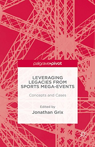 Leveraging legacies from sports mega-events / ed. by Jonathan Grix | Grix, Jonathan