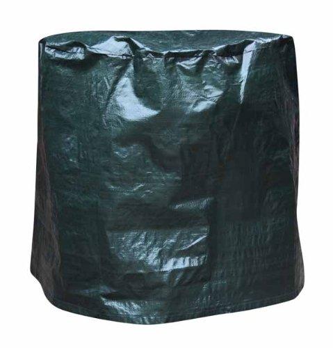 Gardeco Cover-FB50, Abdeckung für Feuerschale, bis 50cm Durchmesser, grün -