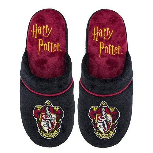 Pantuflas Zapatillas Cinereplicas Harry Potter - Oficial - Alto Confort y Calidad - Sole Pillow Walk - Adulto (S/M, Gryffindor)